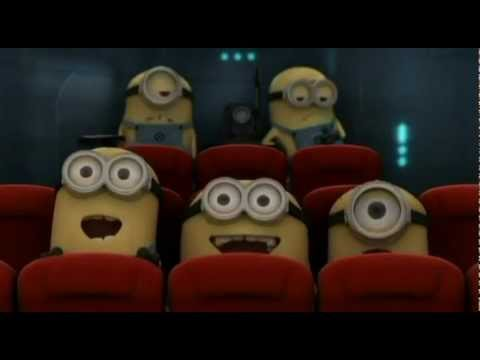 Minion's watching SNSD's Kissing Scene