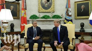 Trump meets with Colombian president at White House