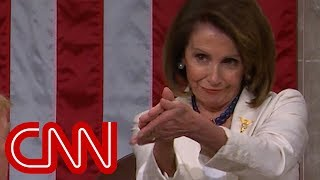 Nancy Pelosi's clapback steals Trump's show