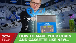 Ultrasonic Cleaning: How To Get A Super Clean Bike Chain & Cassette