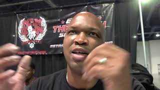 Derrick James Coach of Errol Spence NO Fan Of Watching Boxing On A Phone