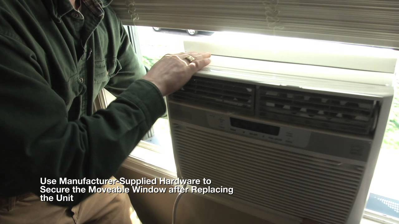 Homeowner S Guide To Window Air Conditioner Installation