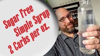 Sugar Free Simple Syrup