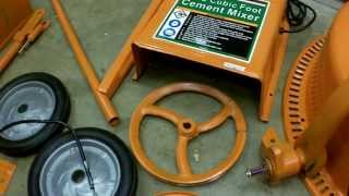 Harbor Freight Tools Cement Mixer Vea Mas Videos De