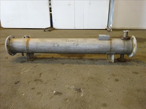 Used- Doyle & Roth Shell & Tube Heat Exchanger - stock # 48199007