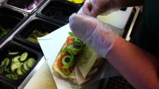 Final Video Story - How To Make A Subway Sandwich