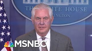 WH Considering Replacing Secretary Of State Rex Tillerson With CIA Director Mike Pompeo | MSNBC