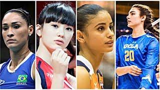 10 Most Beautiful Volleyball Players 2017 (HD)