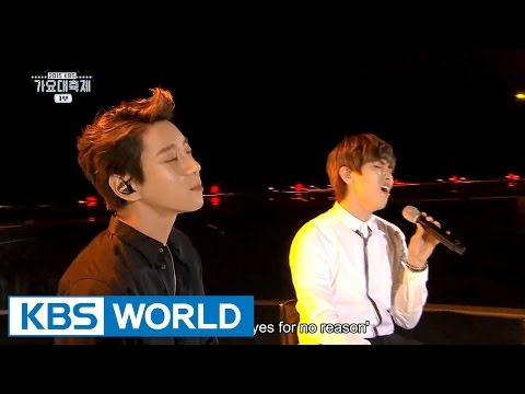 Hwang ChiYeul & SanDeul - Becoming Dust [2015 KBS Song Festival / 2016.01.23]