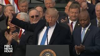 WATCH: President Trump discusses GOP tax plan
