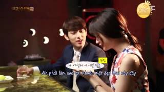 Vietsub 140717 T ara Jiyeon & ZE A Siwan @ Drama Triangle BTS 2nd