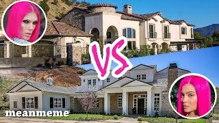 Jeffree Star vs. Kylie Jenner Mansions || Who is fancier?