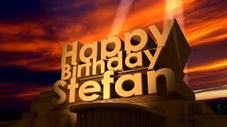 Happy Birthday Stefan
