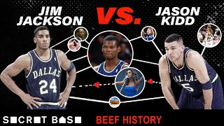 Jason Kidd's beef with Jim Jackson involved Jamal Mashburn and a big Toni Braxton myth