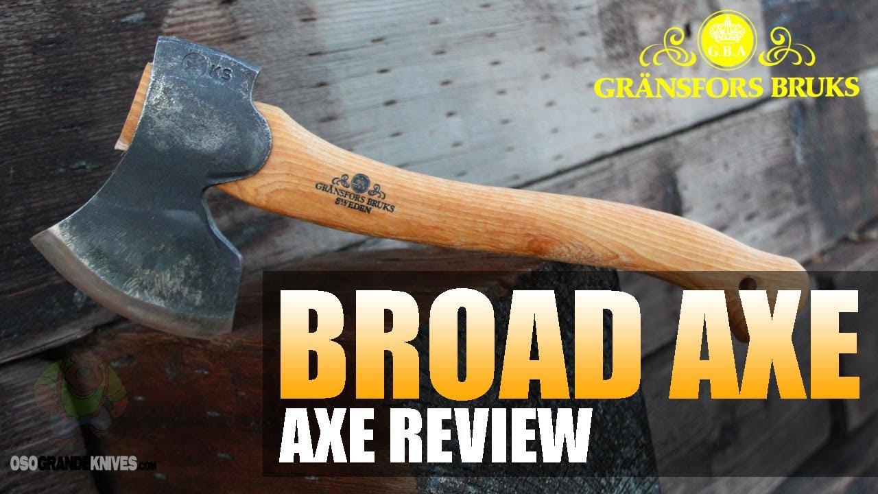 Gransfors Bruks Swedish Carving Axe Review