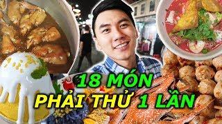 18 món ăn Thái Lan nổi tiếng, ẩm thực đường phố | THAILAND Street Food