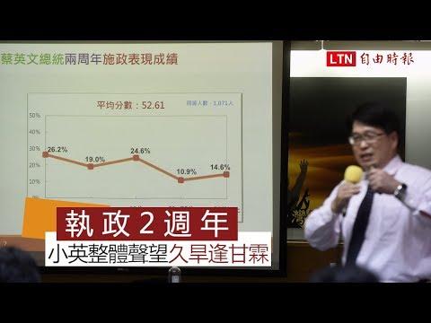 台灣民意基金會民調 游盈隆︰蔡總統聲望「久旱逢甘霖」