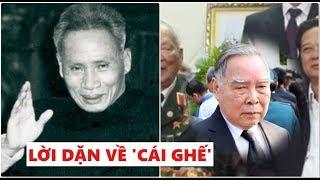 Tiết lộ lời dặn dò năm xưa của Thủ tướng Phạm Văn Đồng dành cho Phan Văn Khải trước lúc ra đi