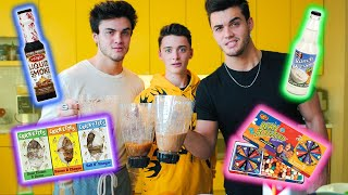 I Tried The Blender Challenge w/ The Dolan Twins And It Was Gross | Noah Schnapp