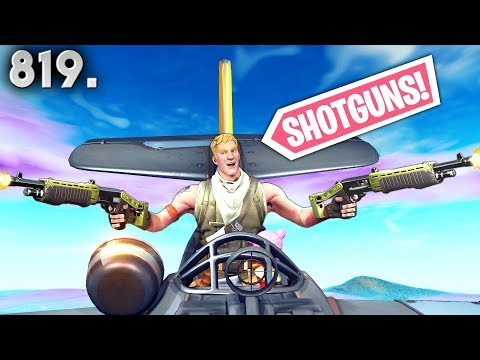 THIS *SHOTGUN* TRICK IS OP! - Fortnite Funny WTF Fails and Daily Best Moments Ep. 819