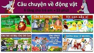 Câu chuyện về động vật | Sư Tử và Chuột | Cậu bé rừng xanh | Vịt con xấu xí