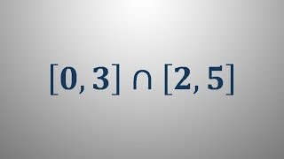 Določanje intervala 1