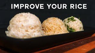3 ways to instantly COOK BETTER RICE