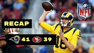 San Francisco 49ers vs LA Rams Week 3 Thursday Night Football Recap | Highest Scoring TNF Game Ever!