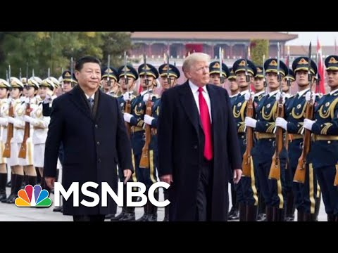 Dow Jones Down 600 Points In Response To Trump's Trade War With China | Hardball | MSNBC