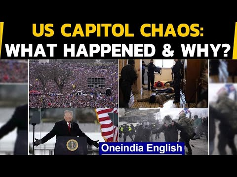 US: 4 dead after hundreds of Trump supporters storm US capitol, explosives seized