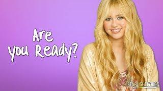 Hannah Montana - Are You Ready? (Lyrics) HD