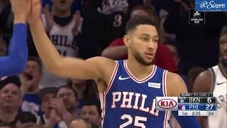 Ben Simmons | Round 1 Game 5 Highlights vs Brooklyn Nets (4.23.19)