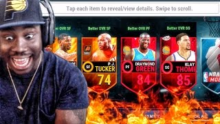 OFFICIAL LAUNCH TIP-OFF PACK OPENING! NBA Live Mobile 16 Gameplay Ep. 10