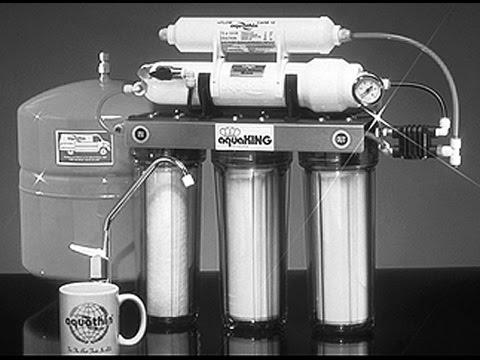 Aquathin Reverse Osmosis Deionization water purification system