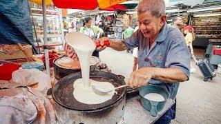 BEST HANDMADE STREET FOOD Desert in MALAYSIA Kuala Lumpur.