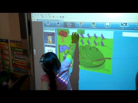 Students Using SMART Boards