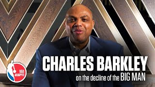 Charles Barkley's exclusive ESPN interview on the decline of the Big Man in the NBA