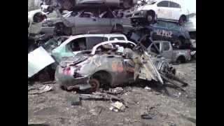 Copy of 09 NISSAN GTR R35 SKYLINE CRASH TOTALED , DEATH OF A GTR