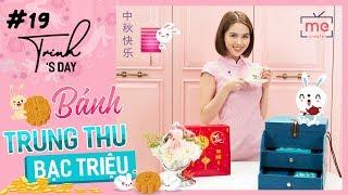 Ngọc Trinh - My Day #19 | Bánh Trung Thu Sang Chảnh Đắt Xắt Ra Miếng | Happy Mid-Autumn Festival ❤️
