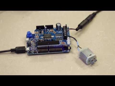 PDL Project: Driving a DC Motor with Cypress S6E1B8 (FM0+)