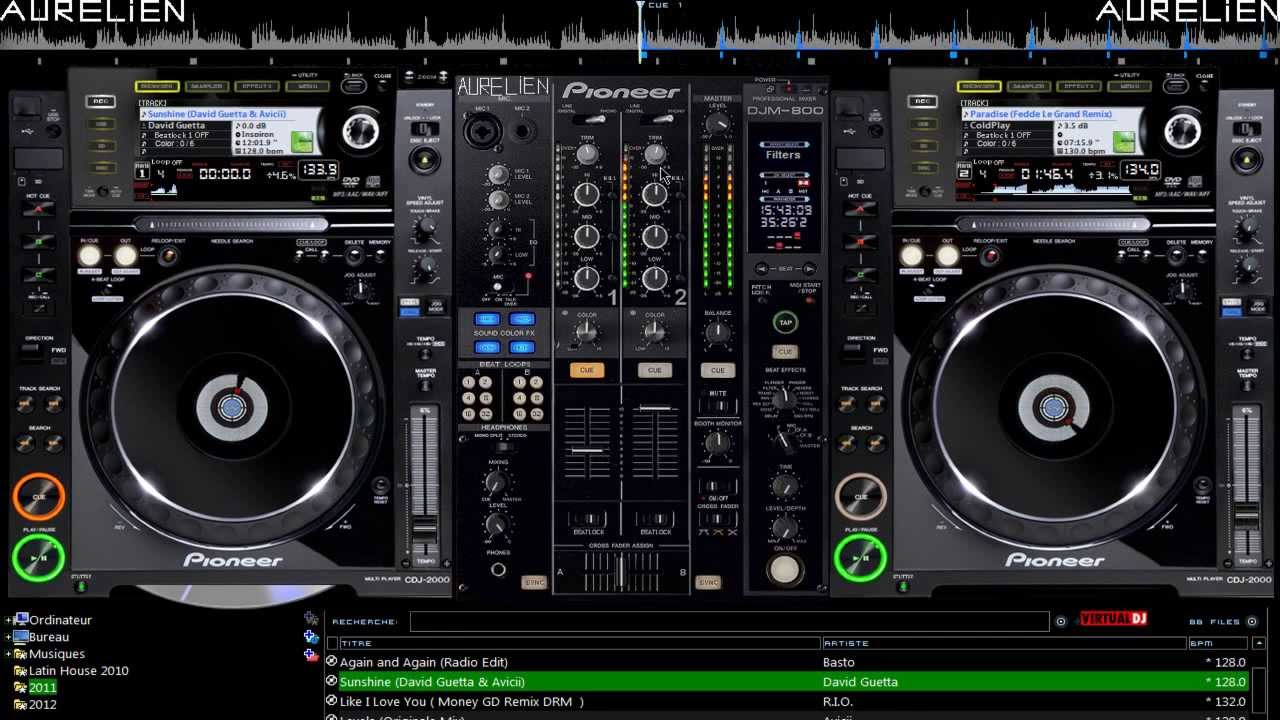 SKINS PIONEER CDJ GRATUIT DJ TÉLÉCHARGER VIRTUAL 2000