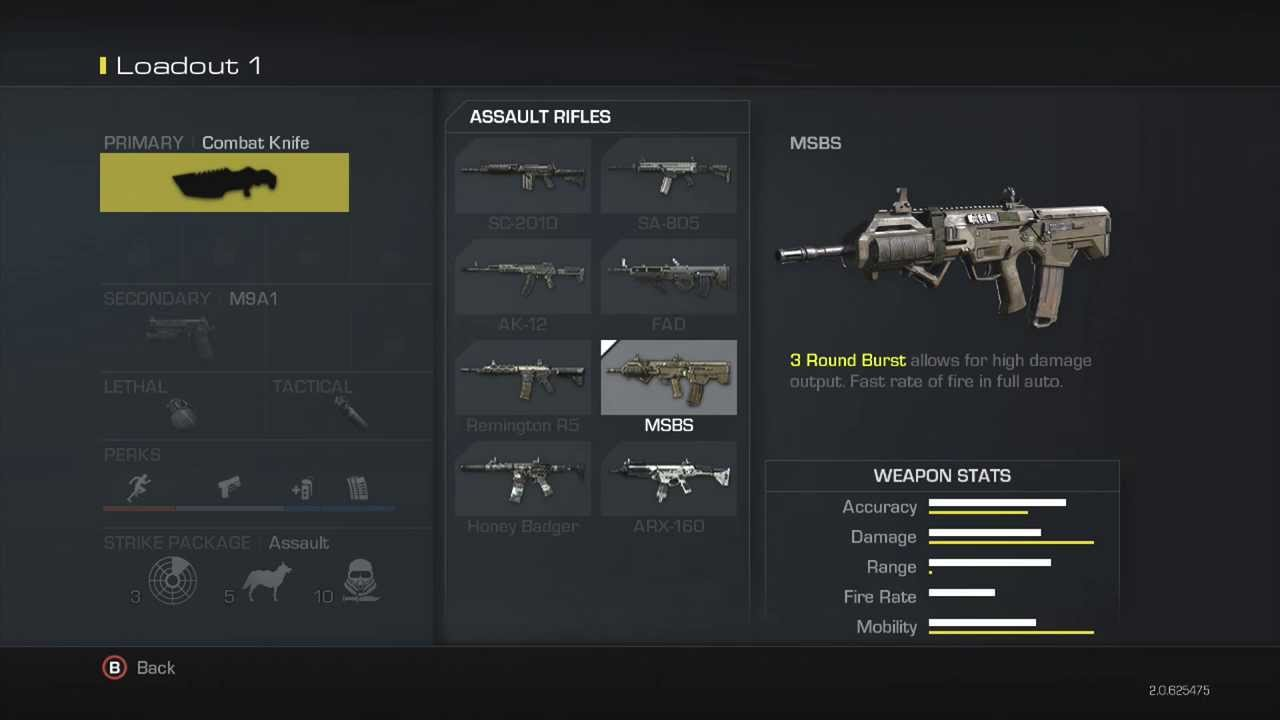 Call Of Duty Ghosts Weapons | www.imgkid.com - The Image ...