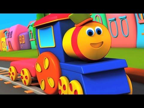 밥, 기차 | 아이들을위한 밥 알파벳 기차 | 아이들의 학습 노래