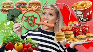 I ONLY ate VEGAN food for 24 hours!! ( and this is what happened.. )