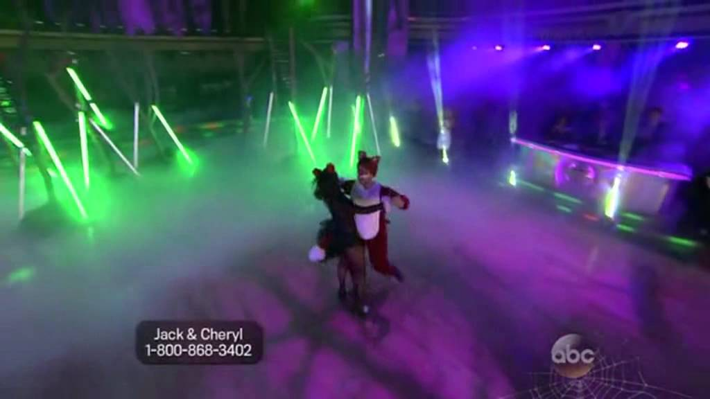 youtube what does the fox say dancing with the stars