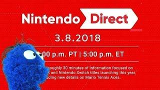 Nintendo Direct 3/8/18 Live Reaction and Commentary