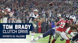 Tom Brady Leads CLUTCH Game-Tying Drive!   Patriots vs. Falcons   Super Bowl LI Highlights