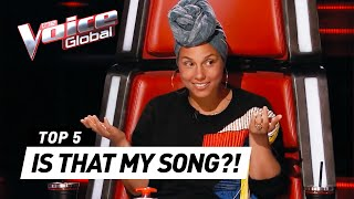 THE VOICE   BEST 'ALICIA KEYS' Blind Auditions