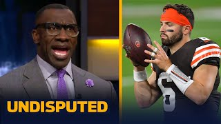 I just don't see anything special in Baker Mayfield, talks Burrow — Shannon | NFL | UNDISPUTED