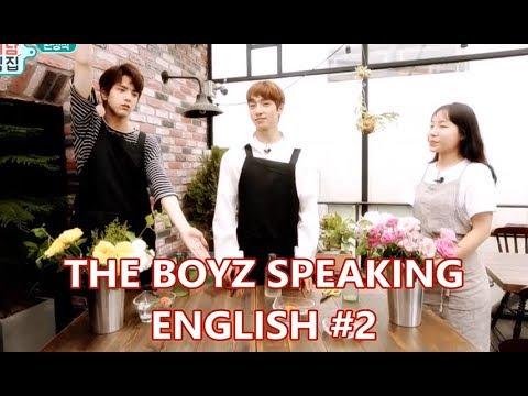 The Boyz™ speaking english (#2)